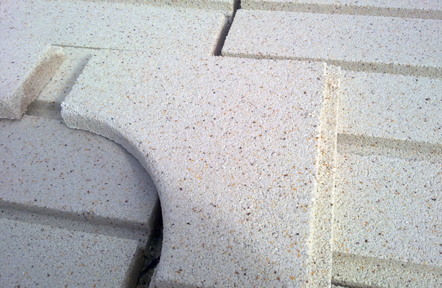 Prefabricados para piscinas piedra artificial thassos madrid - Piedra artificial madrid ...